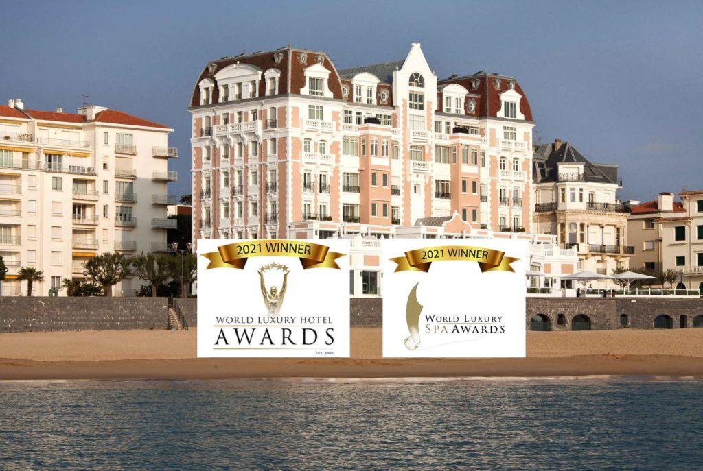 Le Grand Hôtel Thalasso & Spa***** récompensé aux World Luxury Awards